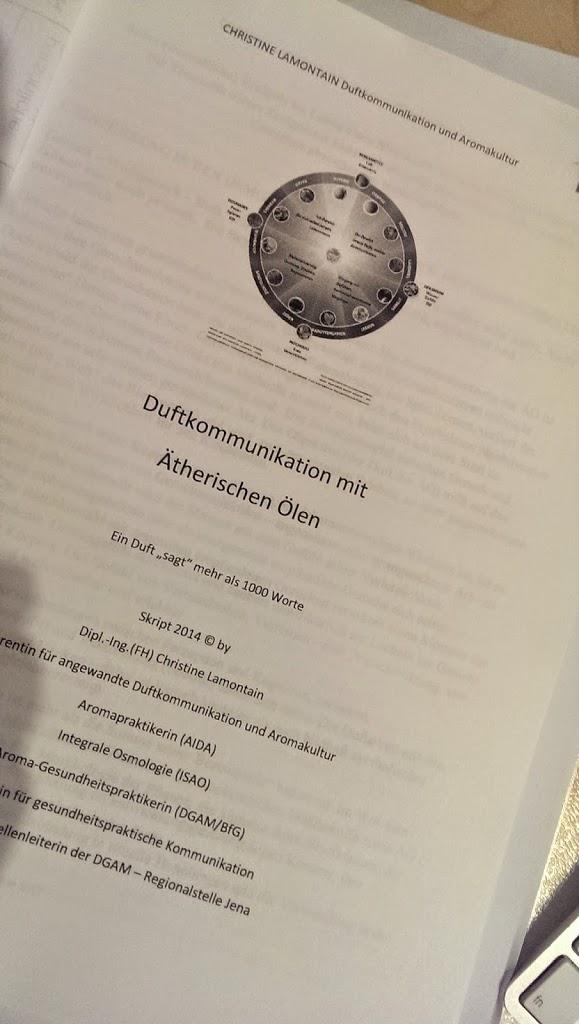 Zusätzliche Termine Duftkommunikation mit Christine Lamontain