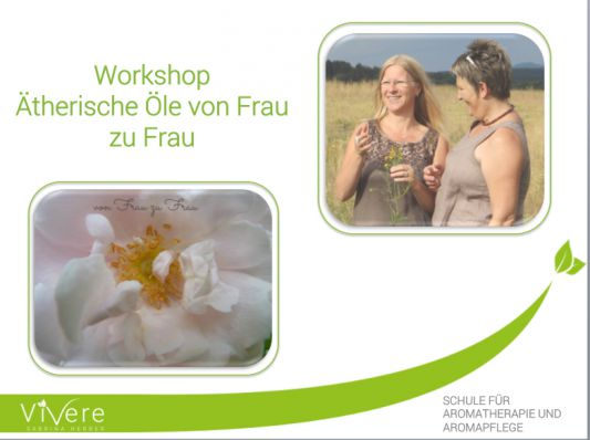 Aromapflege von Frau zu Frau