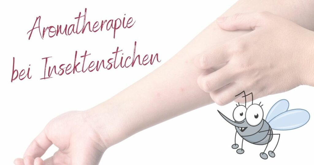 Aromatherapie bei Insektenstichen