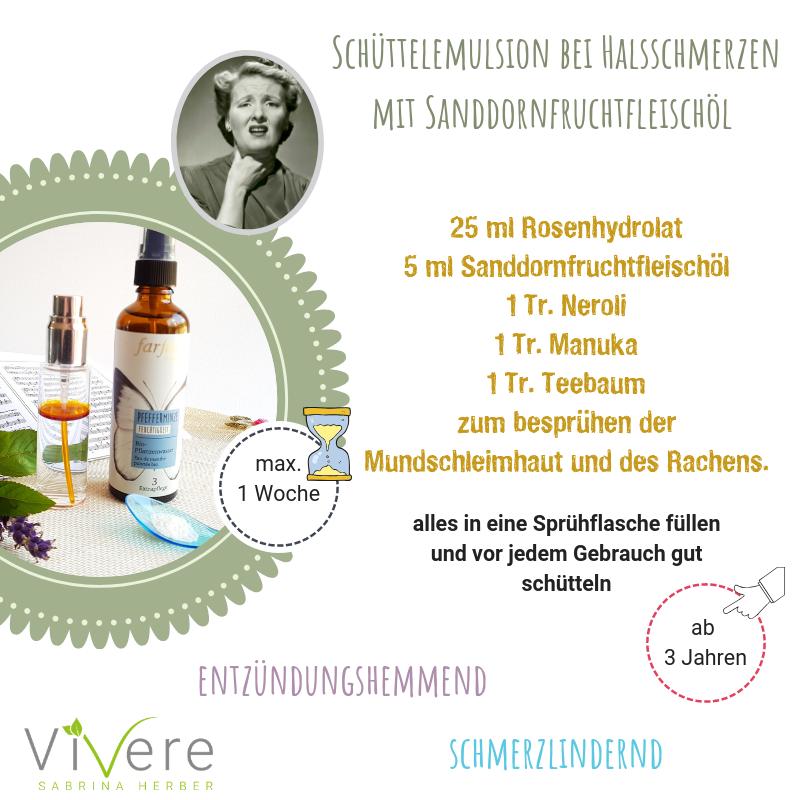 Aromatherapie bei viralen Infekten