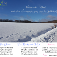 Warmendes Fubad Nach Dem Winterspaziergang Oder Der Schlittenfahrt