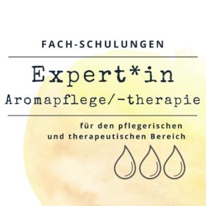 Expert*in Aromapflege/-therapie