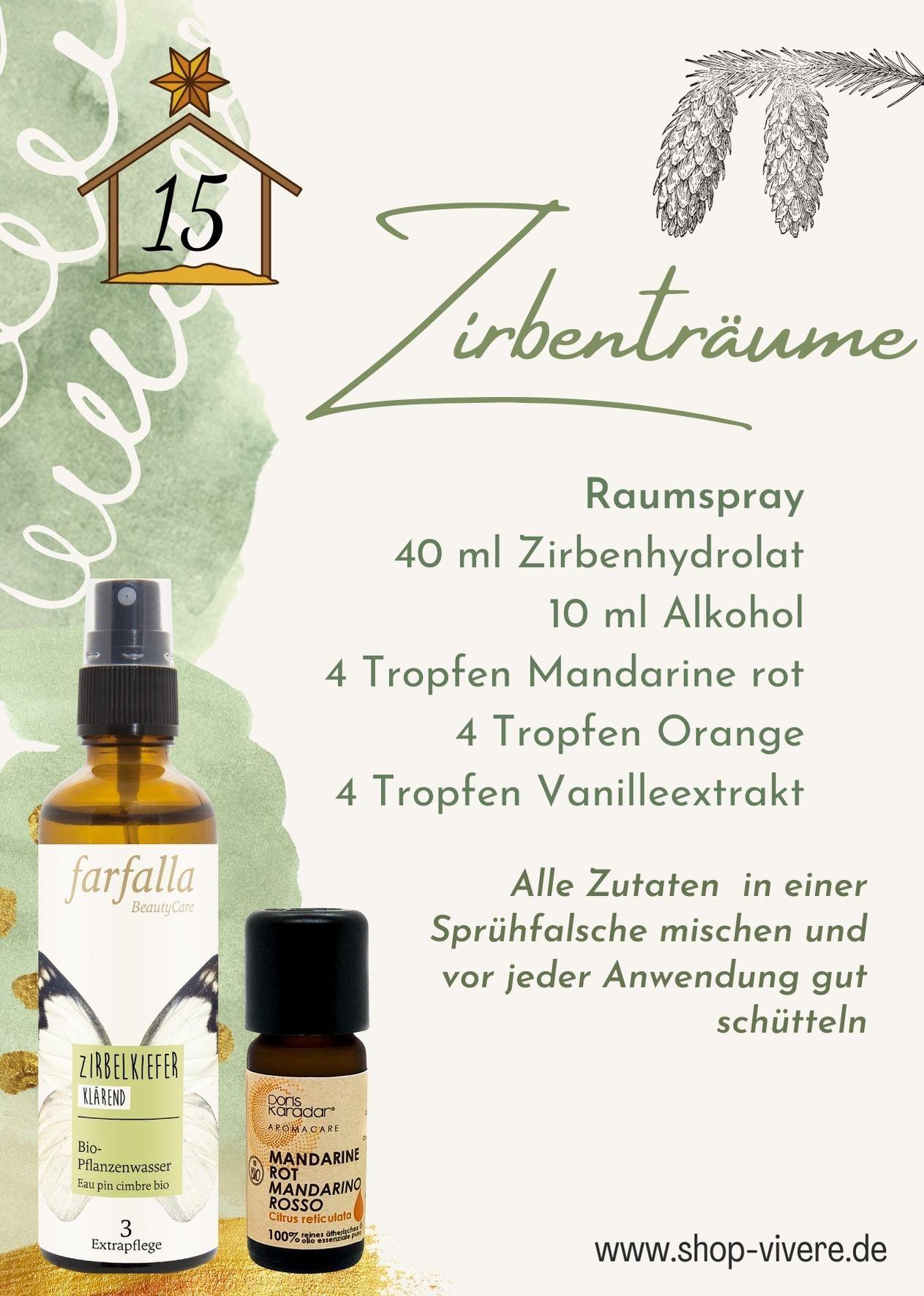 Adventskalender – Aromatherapie 15. Dezember