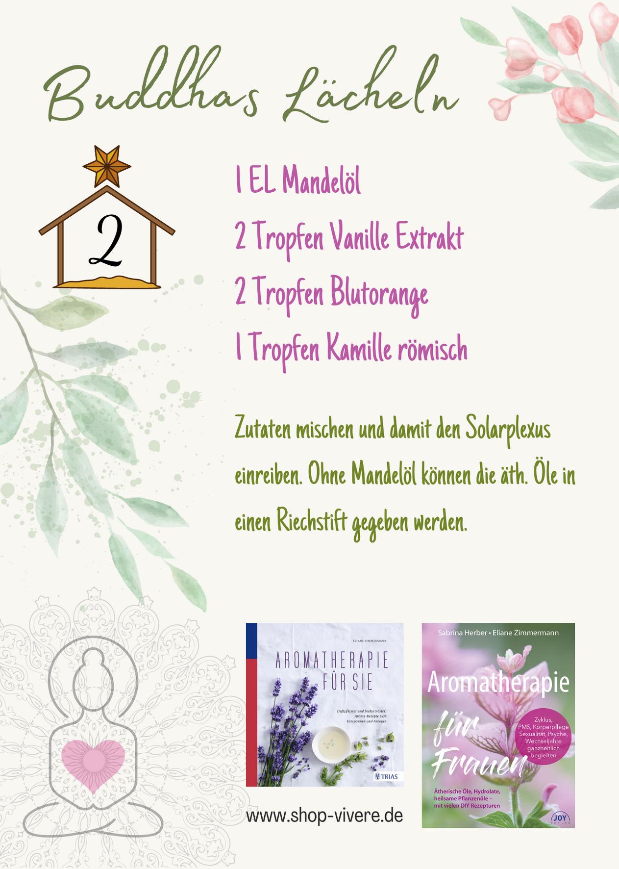 Adventskalender - Aromatherapie 2. Dezember