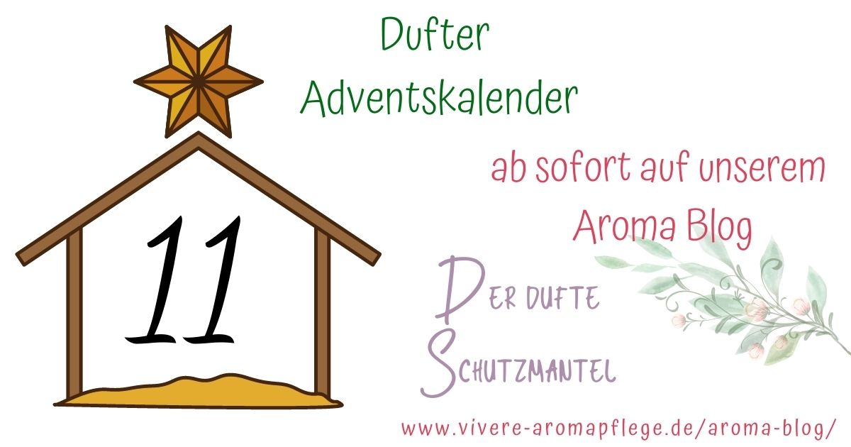Adventskalender – Aromatherapie 11. Dezember