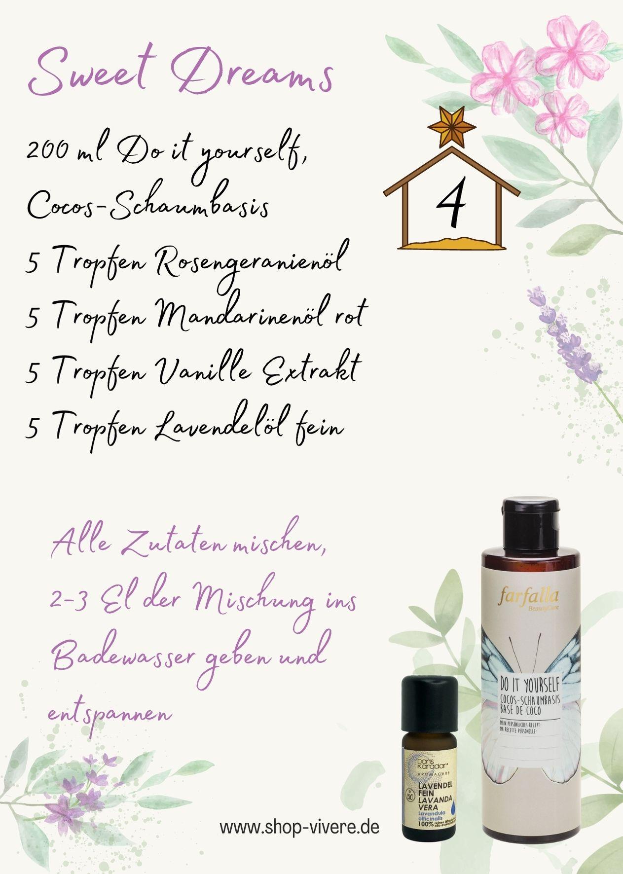 Adventskalender – Aromatherapie 4. Dezember