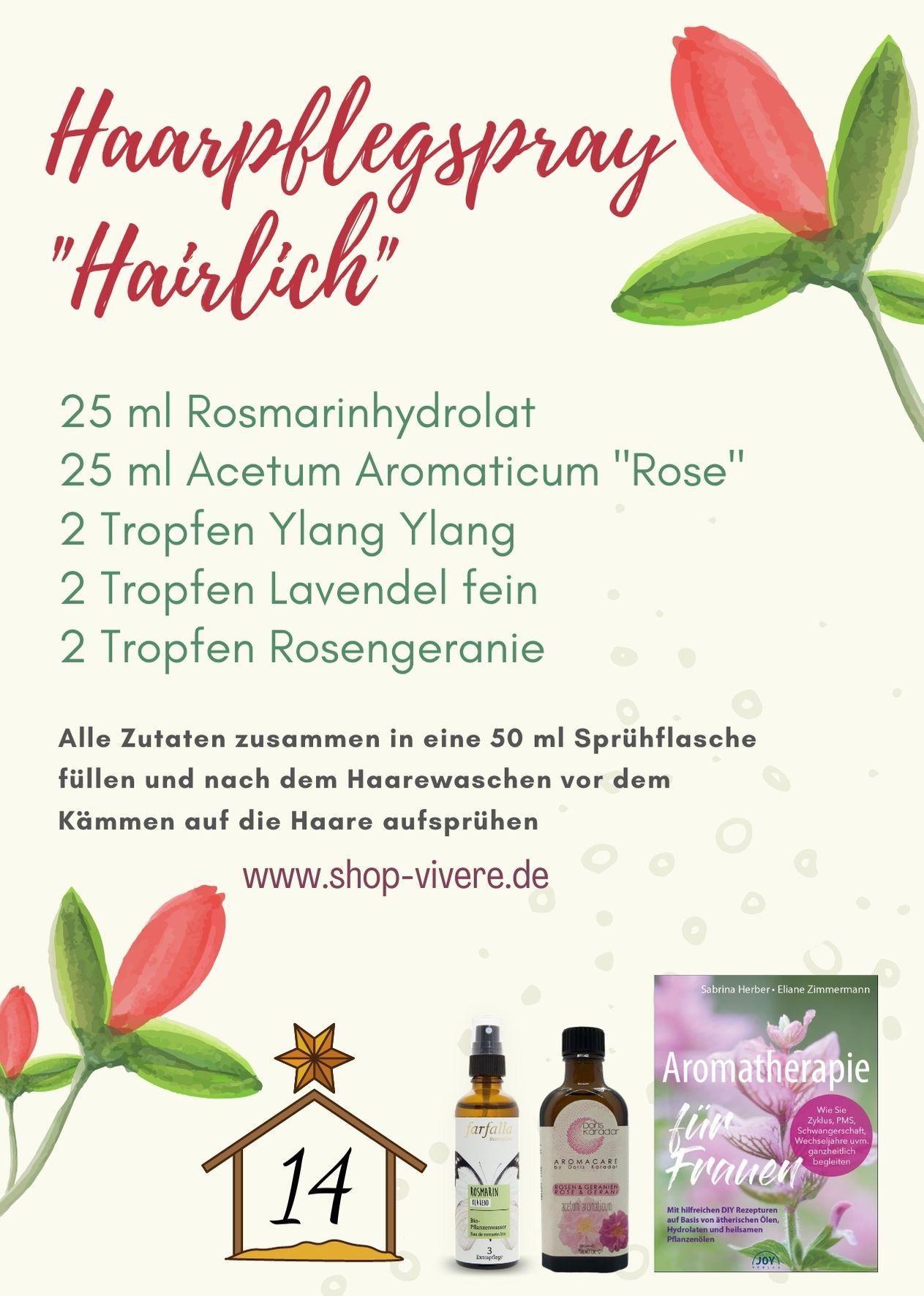 Adventskalender – Aromatherapie 14. Dezember