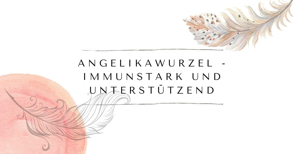 Angelikawurzel - immunstark und unterstützend