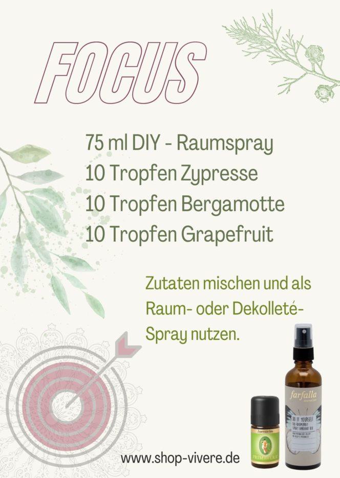 Konzentration Aromatherapie