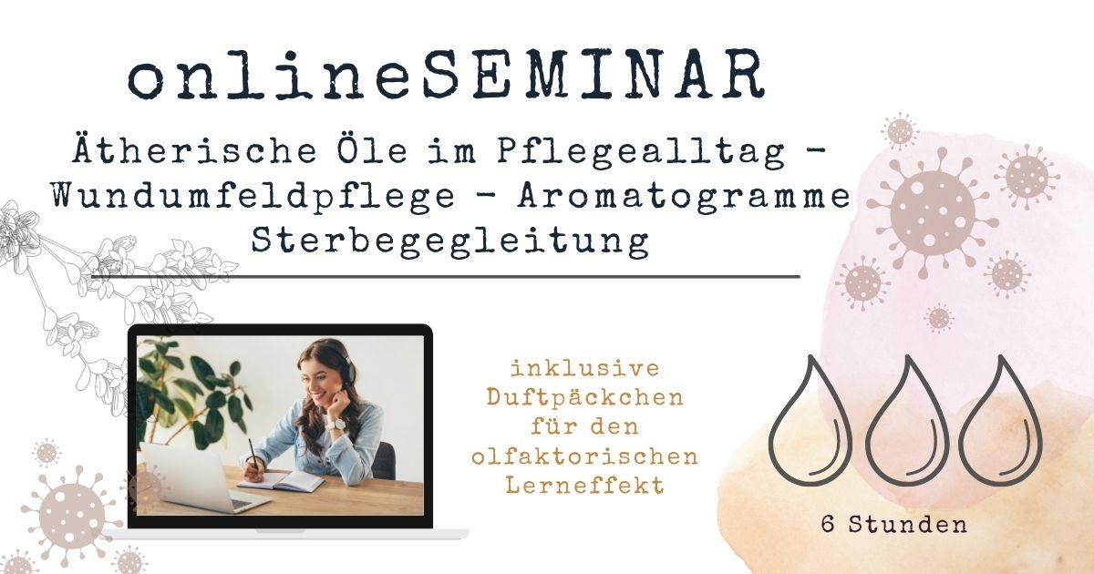 Aromatherapie online Seminar