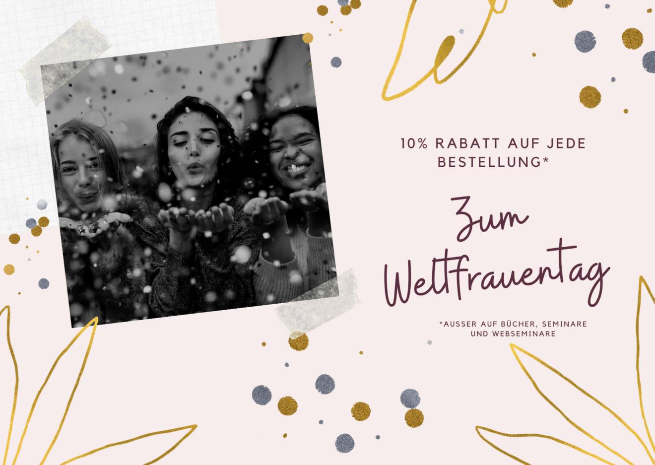 Illustrierte Verspielte Frauentag Karte (1)