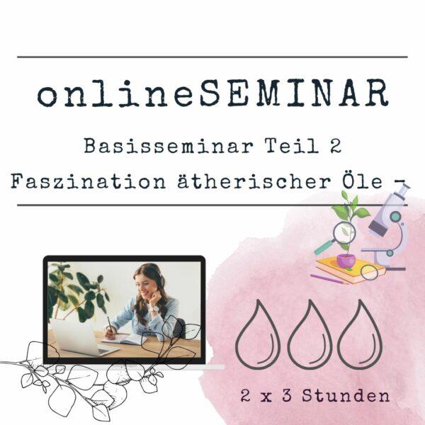 onlineSEMINAR Basisseminar Teil 2