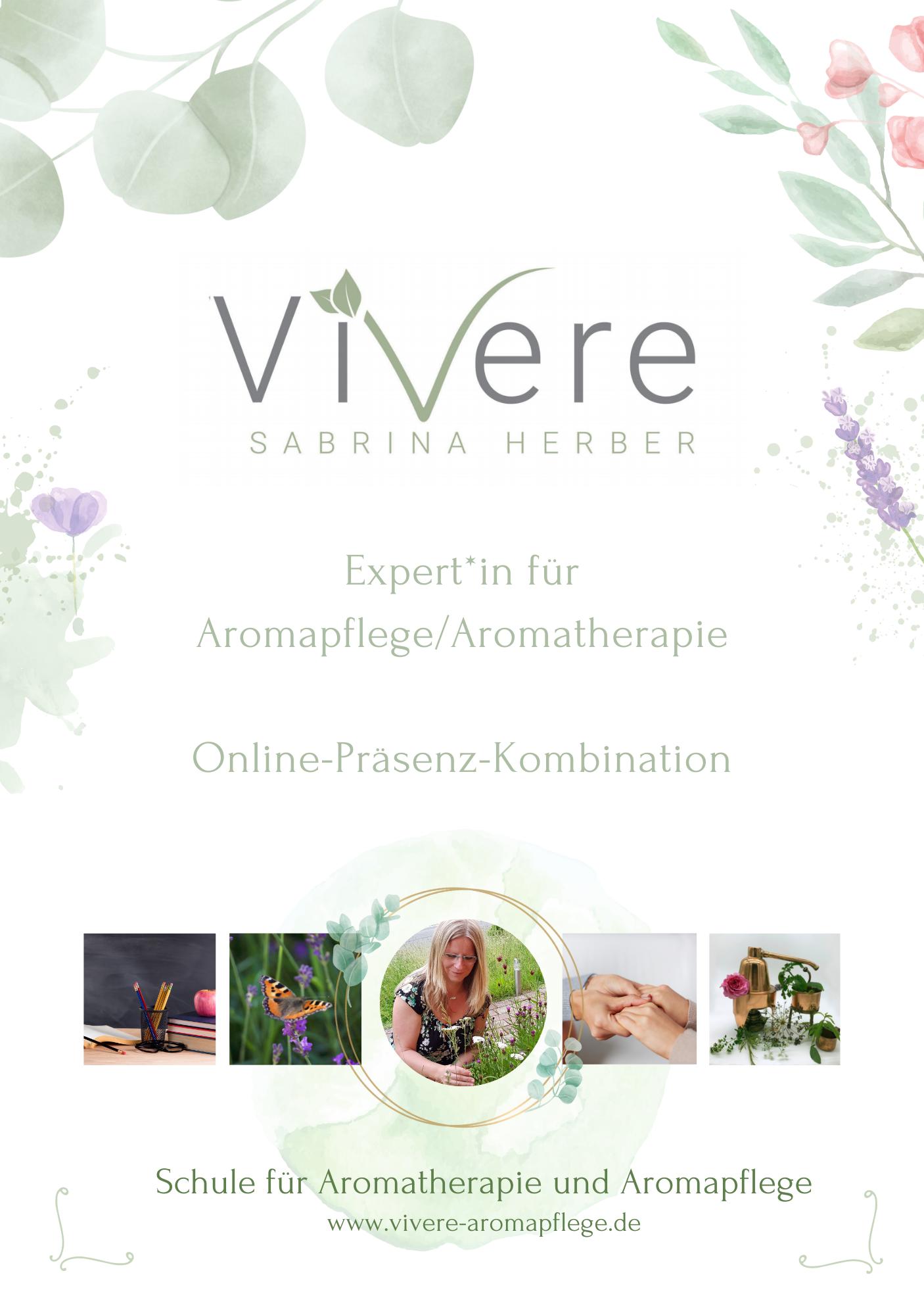 Experte*in Aromapflege/Aromatherapie - Schwerpunkt Gesundheits- und Krankenpflege oder Altenpflege